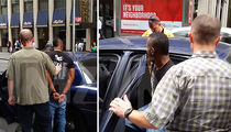 DJ Whoo Kid -- Cuffed On The Job ... Busted Over Child Support (VIDEO)