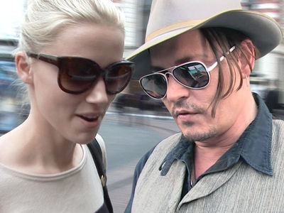 Amber Heard, Johnny Depp -- Settlement Hits a Wall