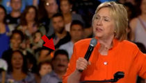 Hillary Clinton -- Orlando Shooter's Father Shows Up at Rally (VIDEO)