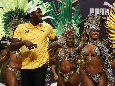 Usain Bolt -- Rio Is The Breast!!! (PHOTO)