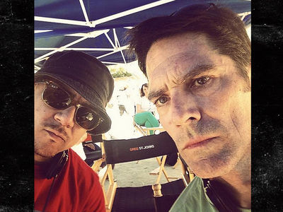 Thomas Gibson -- The Writer Kicked is An Aggressive Badass