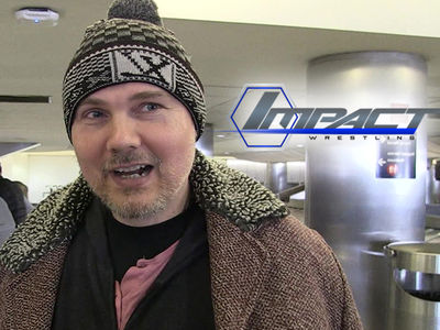 Billy Corgan -- Call Me Mr. President ... Named Head of TNA Wrestling