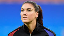 Hope Solo -- Trashes Sweden After Loss ... 'Bunch of Cowards'