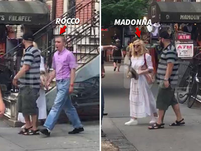 Madonna & Rocco -- Holey Mission For 16th Birthday (VIDEO)