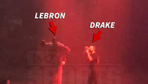 Drake -- Hey Columbus, Give It Up for LeBron!!! (VIDEO)