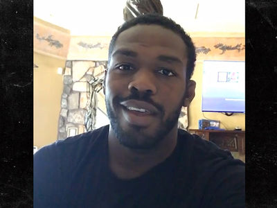 Jon Jones -- Teases 'Really Good News' ... In Drug Test Drama (VIDEO)