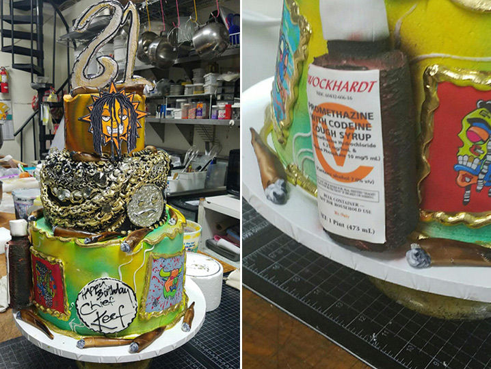 Chief Keefs Birthday Cake is Over Being Sober TMZcom