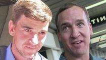 Eli Manning -- Peyton Better Watch ALL Giants Games ... He's Got Sunday Ticket! (VIDEO)