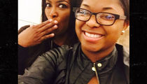 Kenya Moore -- Giving Howard Student a Second Chance