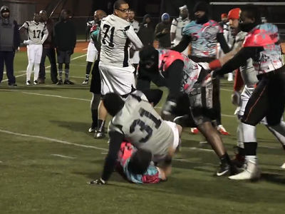 A7FL Tackle Football League -- No Pads, No Helmets, FULL CRAZY (VIDEO)