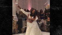 Ray J and Princess Love -- Wedding First Dance Song ... Brandy KILLS IT!! (VIDEO)