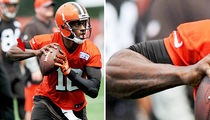 Robert Griffin III -- I Got My New Chick ... TATTED ON MY ARM! (PHOTO)