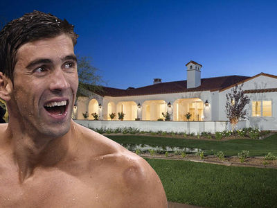 Michael Phelps -- Dropped $2.5 Mil On New AZ Mansion