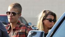 Justin Bieber & Sofia Richie -- She's Legal, Baby! (PHOTOS)