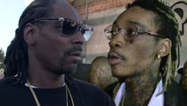 Snoop Dogg & Wiz Khalifa Sued -- Your Concert Cracked My Spine