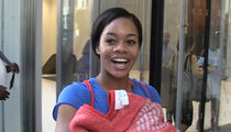 Gabby Douglas -- Shoots Her Shot ... I'm 'In Love' With Hot British Actor (VIDEO)
