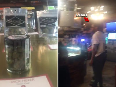 Ezekiel Elliott -- Marijuana Tourist ... During Seattle Road Trip (VIDEO + PHOTO)