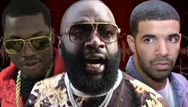 Rick Ross -- Warning, Drake ... I Will Go Off Leash! (AUDIO)