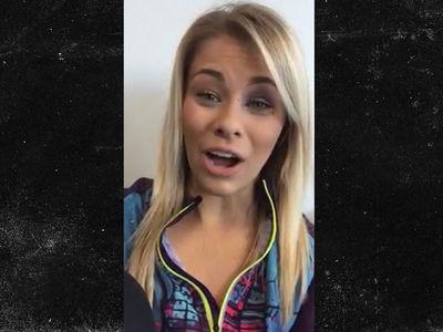Paige VanZant -- I've Never Seen 'Karate Kid' ... Despite Solid Crane Kick (VIDEO)