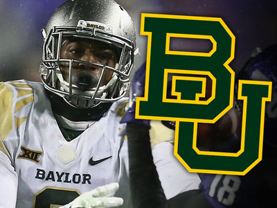 Baylor Football Player -- Suspended 3 Games ... For Dog Beating Video