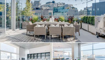 Kim Kardashian & Kanye West -- Big Apple Ballin' in $25 Mil Penthouse (PHOTO GALLERY)