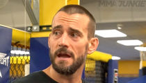 CM Punk -- I Crapped Myself On TV ... So, I'm Not Worried About UFC Debut (VIDEO)