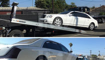 Tyga -- Repo Man's Wet Dream ... Bye Bye, Maybach (PHOTOS)