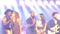 Prince -- The Revolution Reunites at 'Purple Rain' Nightclub (VIDEO)