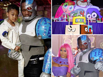 50 Cent -- We Gon' Party Like It's Your B-Day, Son ... Even In Costume