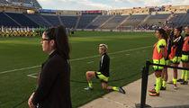 Team USA Soccer Star Megan Rapinoe -- Takes a Knee .... I'm With Colin Kaepernick