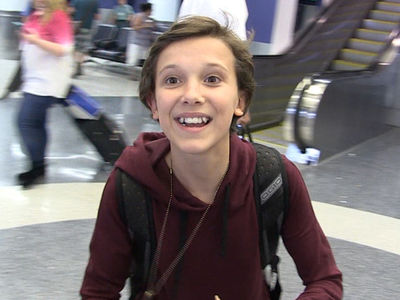 'Stranger Things' Star Millie Bobby Brown -- Great Times With My Fake Parents!! (VIDEO)