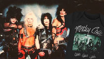 Motley Crue Sued -- Photogs Piss On Onesies ... and Other Tour Merch (PHOTO GALLERY)