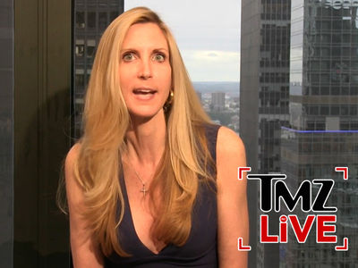 Ann Coulter -- Claims Comedy Central Screwed Her in Editing of 'Rob Lowe Roast' (TMZ LIVE)