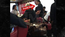 Wrestling Legend Scott Hall -- Booted from Airport Bar for Calling Bartender a Bitch (VIDEO)