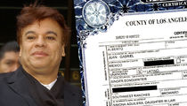 Juan Gabriel -- Pneumonia Big Factor in Death (DOCUMENT)