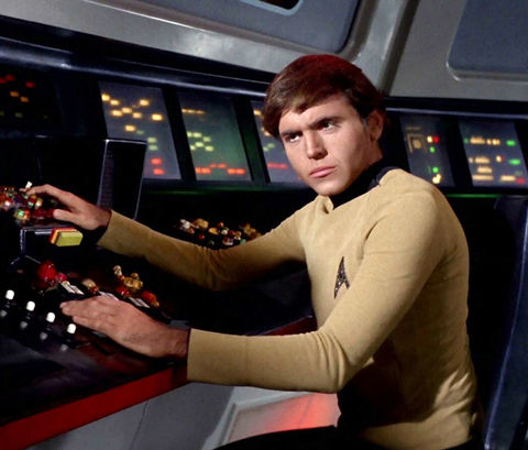 "Walter Koenig as ""Pavel Chekov."""