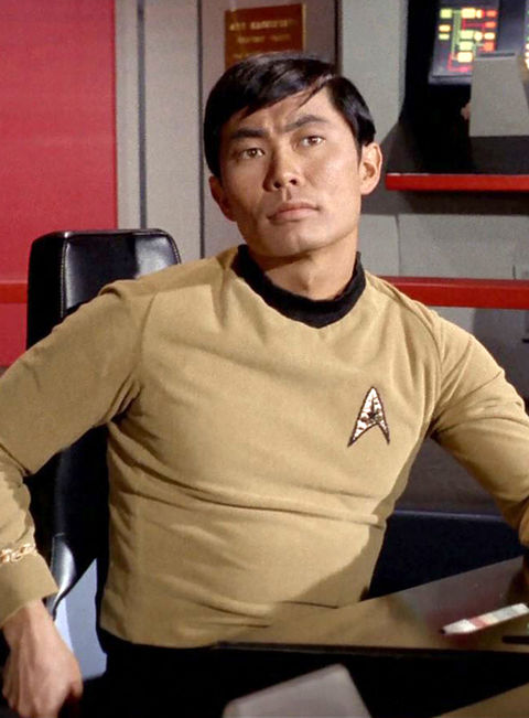 "George Takei as ""Hikaru Sulu."""