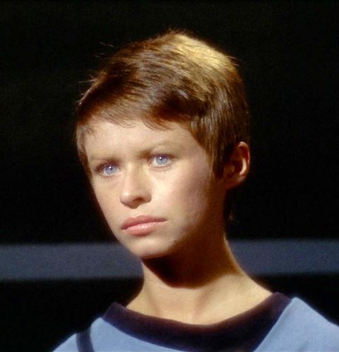 "Beverly Washburn as ""Lt. Arlene Galway."""