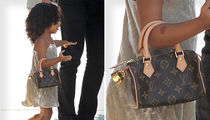 North West -- I'm the Louis Vuitton Donna (PHOTO)