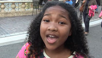 Doc McStuffins Actress -- Pro National Anthem ... I Want to Sing It for the Lakers (VIDEO)