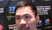 Manny Pacquiao -- I Regret Comparing Gays to Animals, But ... (VIDEO)