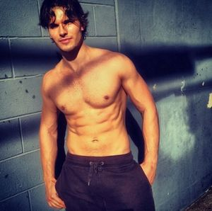 "Shirtless Shots of ""DWTS"" Dancer Gleb Savchenko"