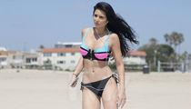 'Bachelor' Star Samantha Steffen -- Takin' A Neon The Sand (PHOTO GALLERY)