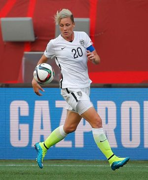 Abby Wambach on the Field
