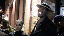 Iman Shumpert & Teyana -- Hey Shaq ... We Saw Your Man Junk (VIDEO)