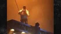 Kanye West -- Floating Stage Fright (VIDEO)