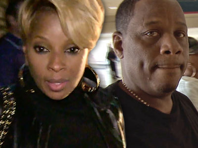 Mary J. Blige -- Divorce Drama ... Kendu Going for Her Bank