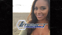 Ex-WWE Star Brandi Rhodes -- Screw Ring Announcing ... I'm Wrestling For Impact