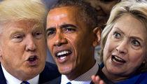 Trump, Obama & Clinton -- Dragged Into LAPD Death Threat Investigation