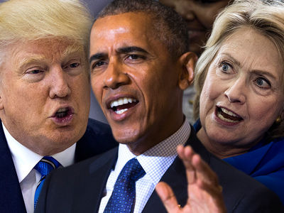 Trump, Obama & Clinton -- Dragged Into LAPD Death Threat Investigation
